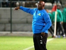 Mamelodi Sundowns have to overcome a 2-1 deficit in a CAF CL preliminary round game. AFP