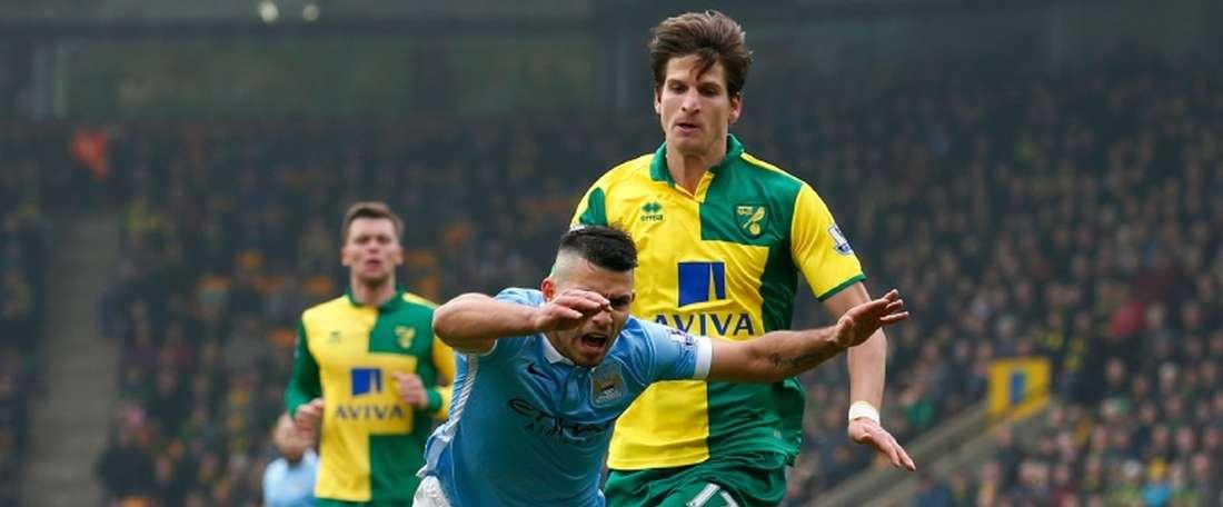 Un joueur de Norwich était alcoolique à 13 ans. AFP
