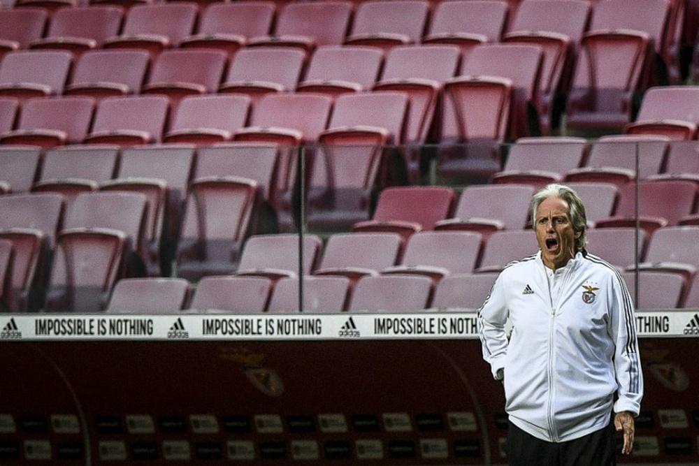 Jorge Jesus puso al Dinamo de Kiev al nivel de Barça y Bayern. AFP