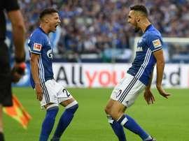 Leverkusen derrotado na Bayer Arena. AFP