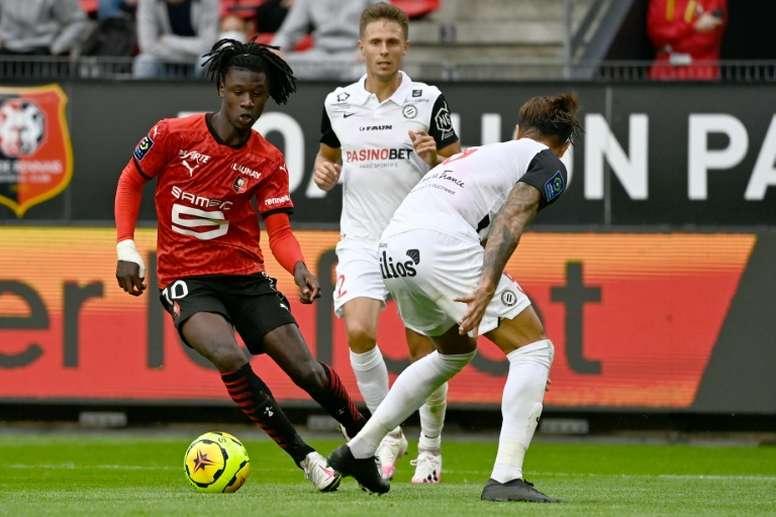 Camavinga ha estado un mes de baja por una lesión. AFP