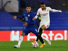 Chances were at a premium as Chelsea and Sevilla drew 0-0 in the Champions League. AFP