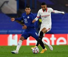 Chelsea e Sevilla se classificaram para as oitavas da Champions. AFP/Arquivo