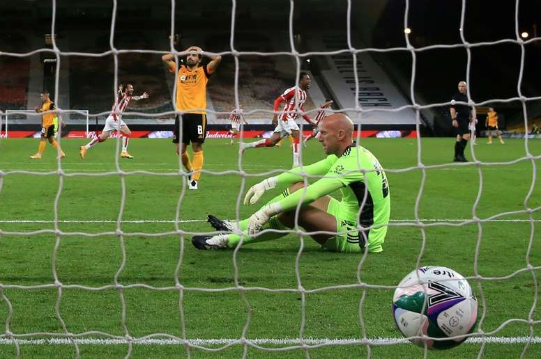 Wolves stunned by second-tier Stoke in League Cup. AFP