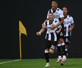 Udinese claimed three vital points and Juventus will have to wait for the Serie A title. AFP