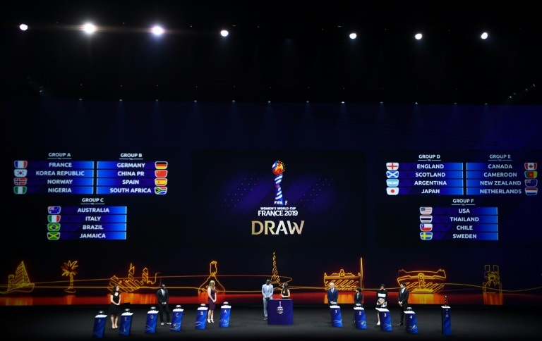 Nigeria handed tough draw in 2019 FIFA Women's World Cup