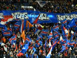Rangers hit with second sectarian chanting charge from UEFA. AFP