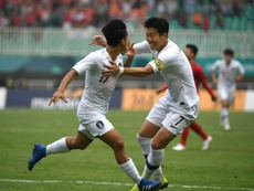 Son Heung-min is playing to avoid military service. AFP