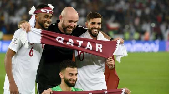 He's our Guardiola: Qatar coach hailed after stunning Asian win