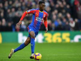 Aaron Wan-Bissaka is set for a £50 million move from Crystal Palace. AFP