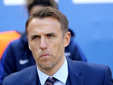 Phil Neville was bored during the victory over Denmark. AFP