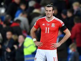 Bale could not come up with the goods for Wales. AFP