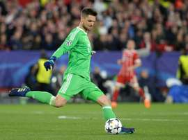 Ulreich has stepped into Neuer's shoes impressively. AFP
