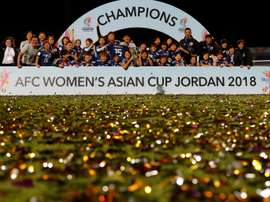 Japan's women's team have won the Asia Cup 2018. AFP