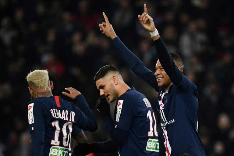 PSG overrun Saint-Etienne to reach League Cup semi-finals