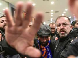Turan returned to Turkey in January with Istanbul Basaksehir. AFP