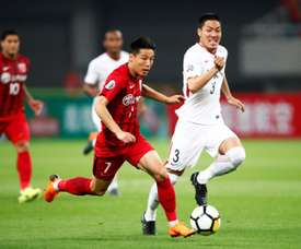 Wu Lei has been dubbed 'China's Maradona'. AFP