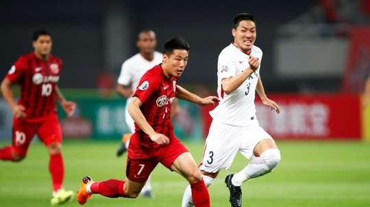 Wu Lei has been dubbed 'China's Maradona'. AFP