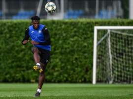 Atalanta formally sign Colombian ace Zapata. AFP