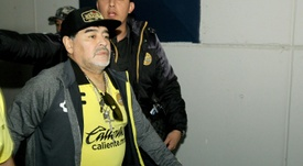 Maradona's side lost in the final. AFP