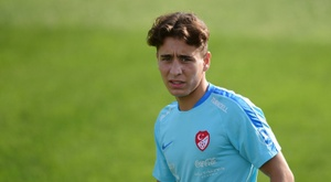 Emre Mor non vuole essere paragonato a Messi. AFP