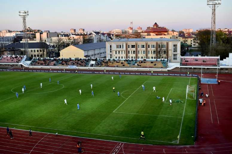 The Belarusian top flight is the only one in Europe still playing