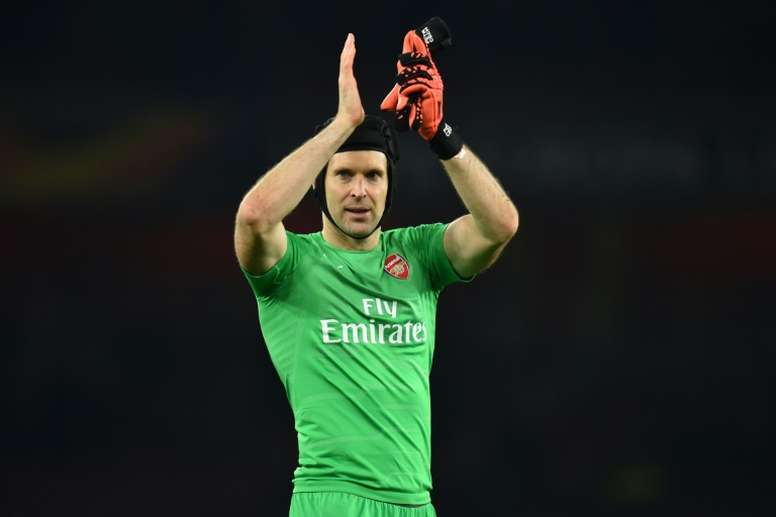 Cech jugará ante el Chelsea y volverá al club 'blue'. AFP