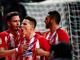 Gameiro's goal was the difference between the two sides. AFP