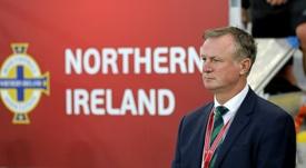 Irlanda del Norte despidió a Martin O'Neill. AFP