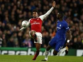 Iwobi est à Arsenal depuis ses 9 ans. AFP