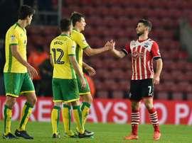 El jugador del Southampton no sabe si continuará en el equipo. AFP