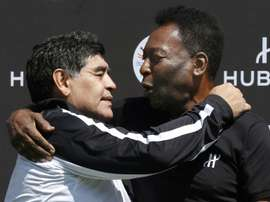Maradona v Pele -- who's the greatest of them all? AFP