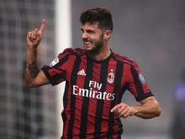 Cutrone scored twice as Milan crushed SPAL. AFP