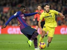 Barcelona dominate Villarreal. AFP