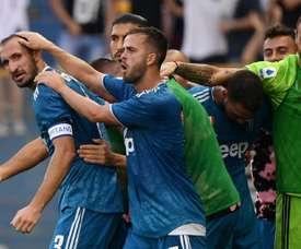 Chiellini leva três pontos para Turim. AFP