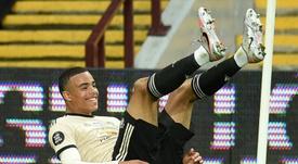 Lo United si aggrappa al suo tridente. AFP