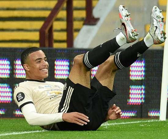 Manchester United won 3-0. AFP