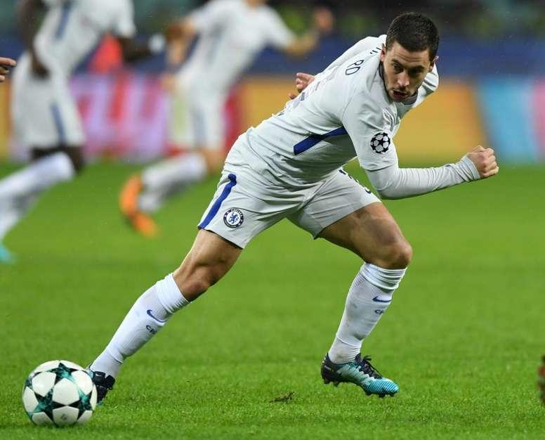 Real Madrid aponta a Hazard. AFP