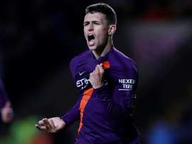 Foden is one for the future. AFP
