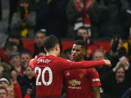 United veut se débarrasser d'un joueur pour 22 millions d'euros. AFP