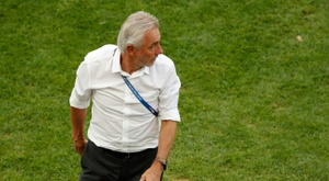 Van Marwijk wasn't impressed with his side's finishing. AFP