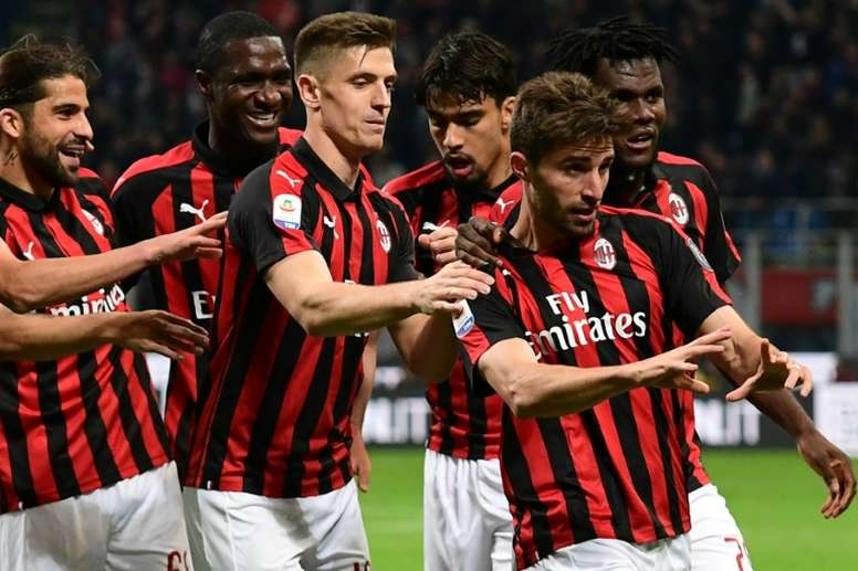 Milan may not compete in the Europa League next season despite qualifying. AFP