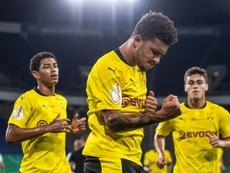 Sancho back for more at Dortmund despite United charm offensive. AFP