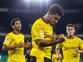 Jadon Sancho was one of Manchester United's biggest targets. AFP