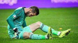 Manchester United confirma desfalques de De Gea e Pogba. AFP