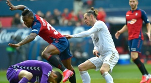 Gareth Bale got an assist in a rare start for Real Madrid. AFP