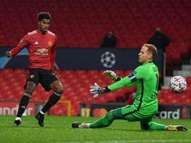 Manchester United won 5-0. AFP