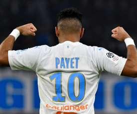 Dimitir Payet gave a lacklustre Marseille the three points. AFP