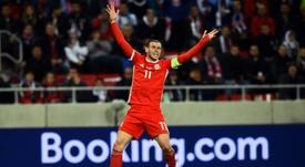 Bale, titular contra Azerbaiyán, ya suma 42 días sin jugar con el Madrid. AFP