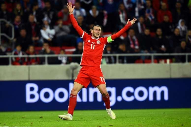Bale volvió a hablar de la comparativa Gales-Madrid. AFP